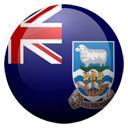 Flagge von Falklandinseln bzw. Falkland Islands