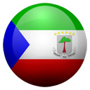 Flagge von Äquatorialguinea bzw. Equatorial Guinea
