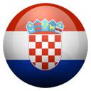 Flagge von Kroatien bzw. Croatia
