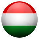 Flagge von Ungarn bzw. Hungary