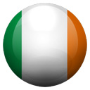 Flagge von Irland bzw. Ireland, Republic Of