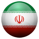 Flagge von Iran bzw. Iran (Islamic Rep. of)