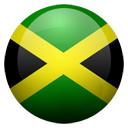 Flagge von Jamaika bzw. Jamaica