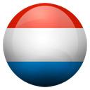 Flagge von Luxemburg bzw. Luxembourg