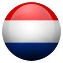 Flagge von Niederlande bzw. Netherlands, The