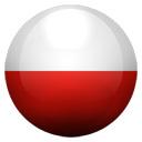 Flagge von Polen bzw. Poland