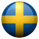 Flagge von Schweden bzw. Sweden