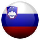 Flagge von Slowenien bzw. Slovenia