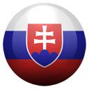 Flagge von Slowakei bzw. Slovakia