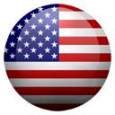 Flagge von Vereinigte Staaten bzw. United States of America