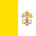 Flagge von Vatikanstadt bzw. Vatican City