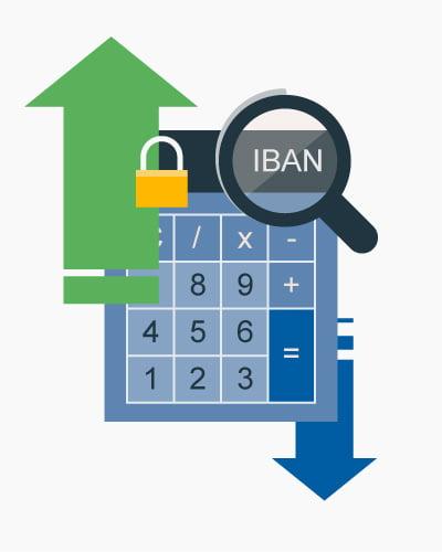 IBAN Rechner für Kieler Volksbank in Kiel