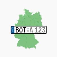 Kennzeichen BOT: Bottrop
