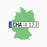 Kennzeichen CHA: Cham