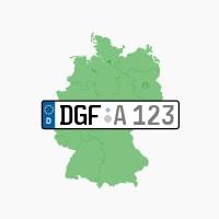 Kennzeichen DGF: Gottfrieding