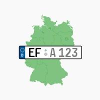 Kennzeichen EF: Erfurt