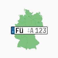 Kennzeichen FÜ: Fürth