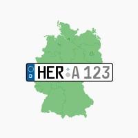 Kennzeichen HER: Herne