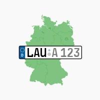 Kennzeichen LAU: Schwaig