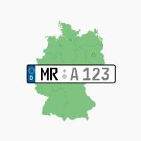 Kennzeichen MR: Marburg