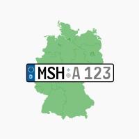 Kennzeichen MSH: Helbra