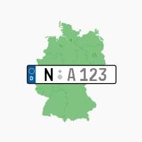 Kennzeichen N: Nürnberg