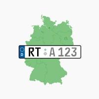 Kennzeichen RT: Reutlingen