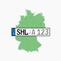 Kennzeichen SHL: Suhl