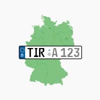Kennzeichen TIR: Tirschenreuth