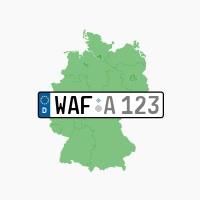 Kennzeichen WAF: Telgte