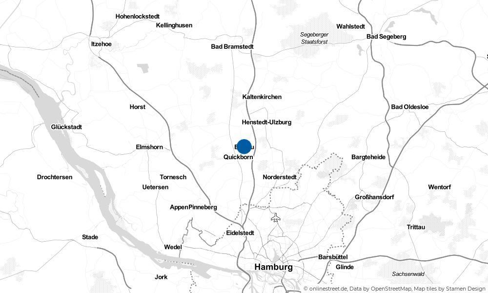 Karte: Wo liegt Ellerau?