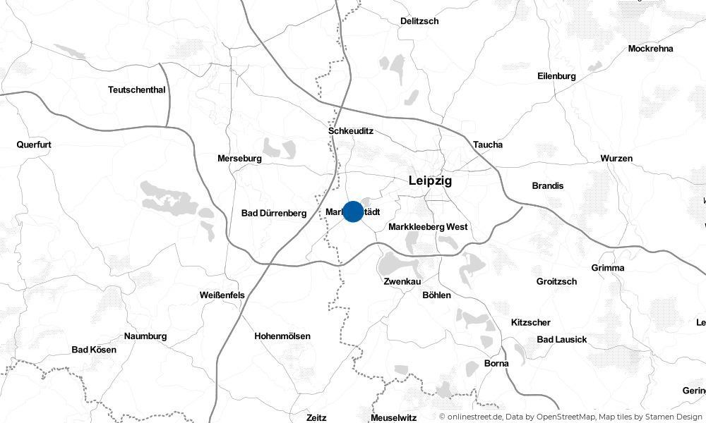 Karte: Wo liegt Markranstädt?