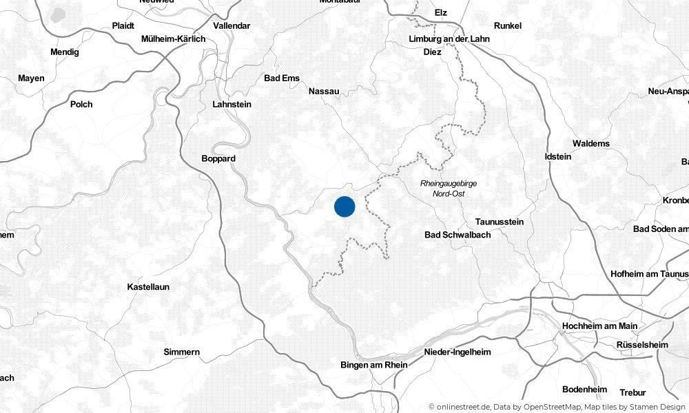 Karte: Wo liegt Lautert?