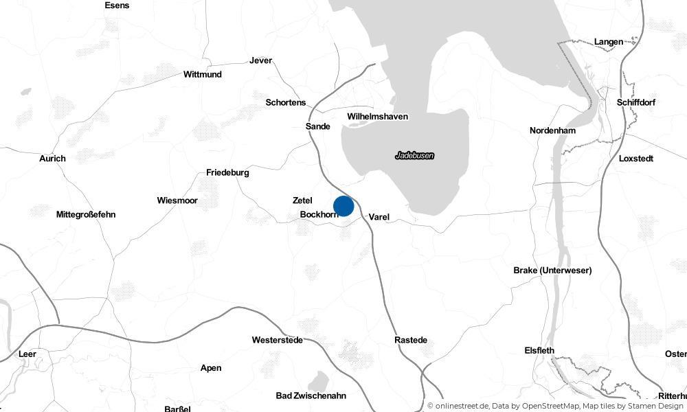 Karte: Wo liegt Jeringhave?
