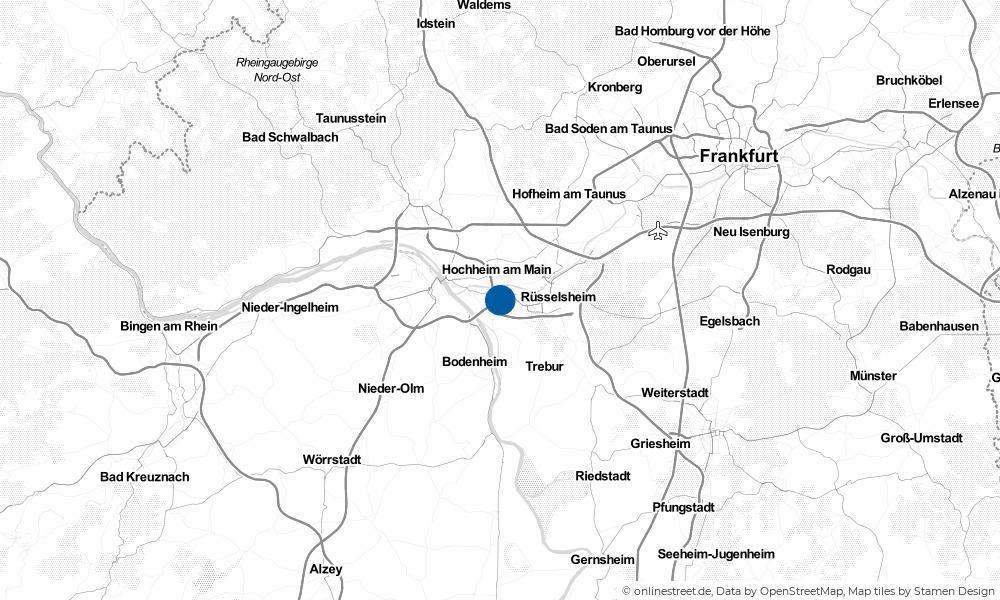 Karte: Wo liegt Bischofsheim?