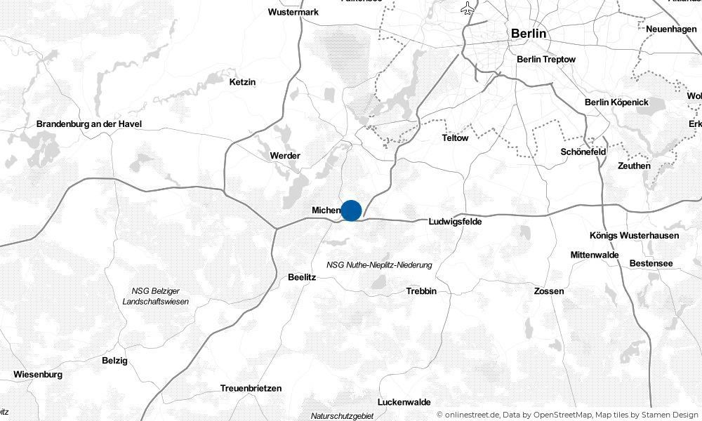 Karte: Wo liegt Langerwisch?