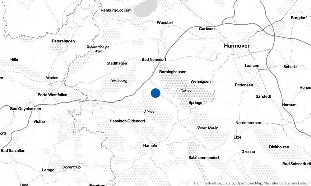 Karte: Wo liegt Schmarrie?