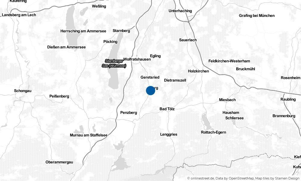 Karte: Wo liegt Königsdorf?