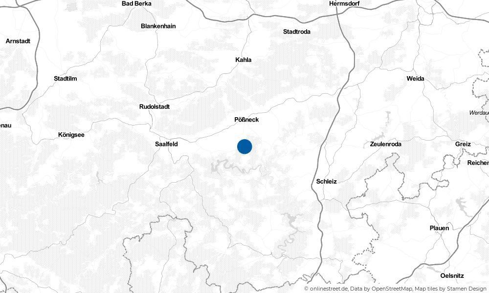 Karte: Wo liegt Schmorda?
