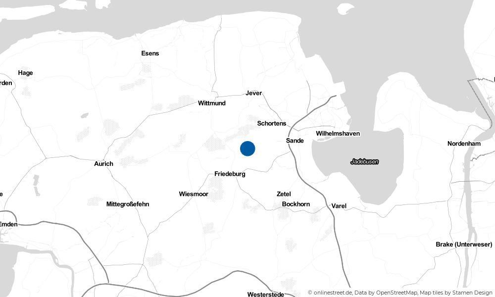 Karte: Wo liegt Abickhafe?