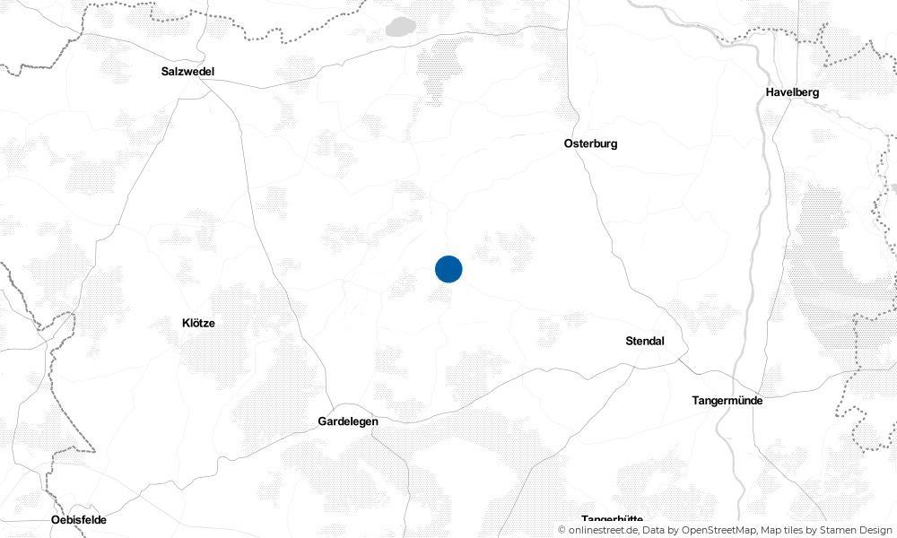Karte: Wo liegt Bismark?