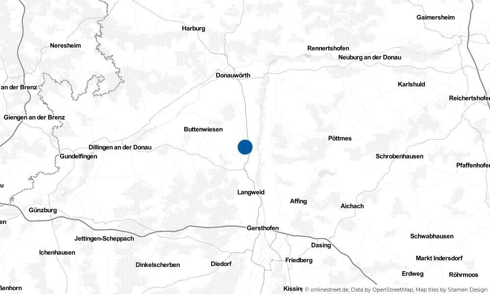 Karte: Wo liegt Westendorf?