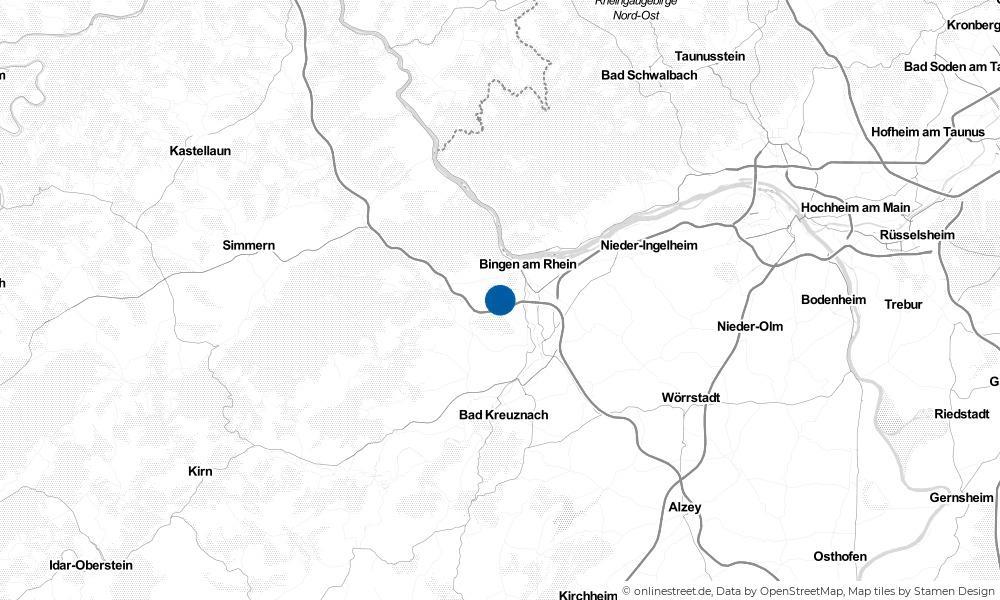 Karte: Wo liegt Rümmelsheim (Burg Layen)?