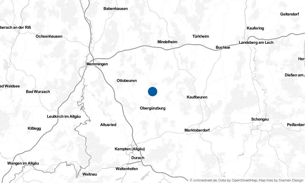 Karte: Wo liegt Ronsberg?