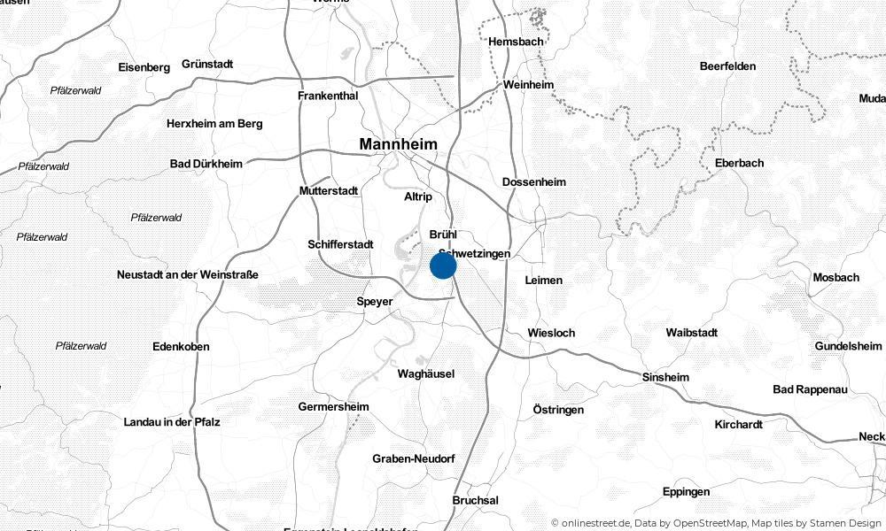 Karte: Wo liegt Ketsch?