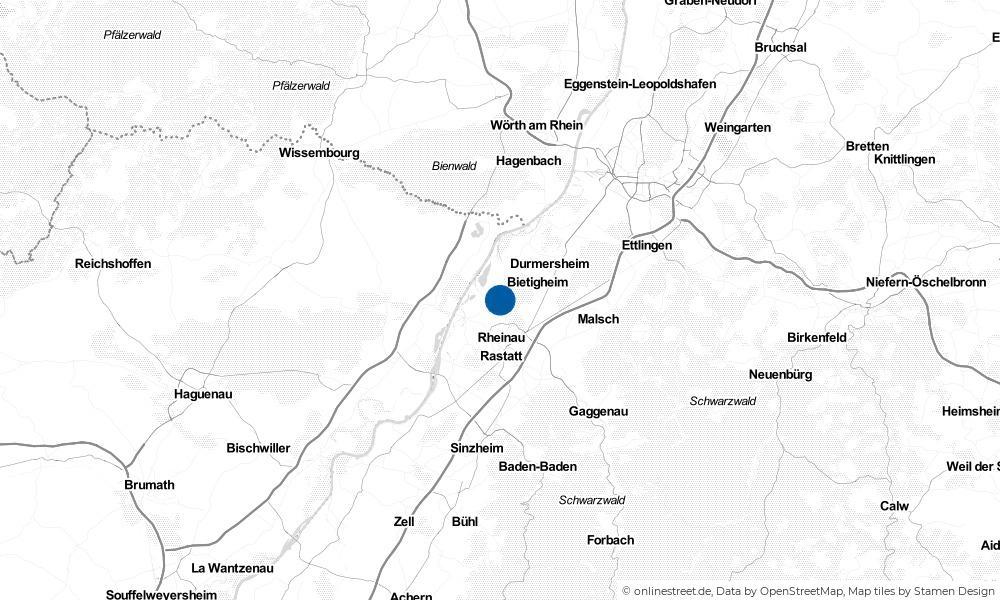 Karte: Wo liegt Steinmauern?