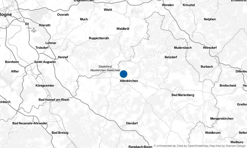 Karte: Wo liegt Heupelzen?