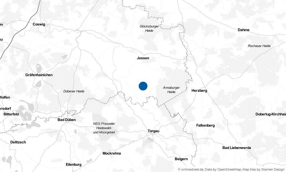 Karte: Wo liegt Plossig?