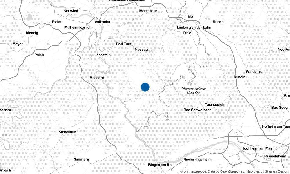 Karte: Wo liegt Endlichhofen?