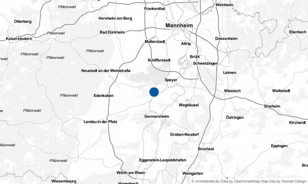 Karte: Wo liegt Harthausen?